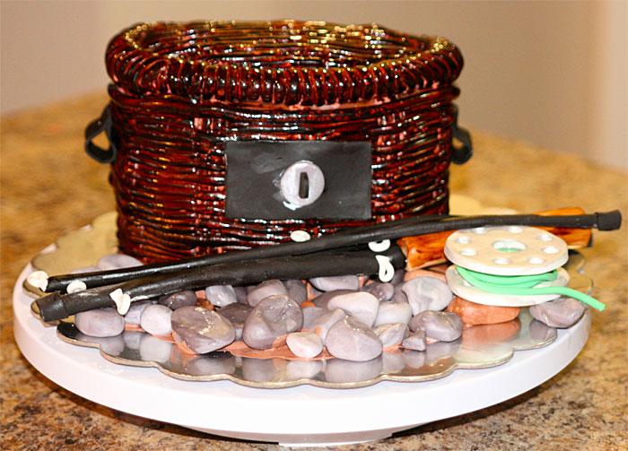 Fish Basket - Sweet Cheeks Custom Cakes
