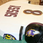 Baltimore Ravens Jersey - Sweet Cheeks Custom Cakes
