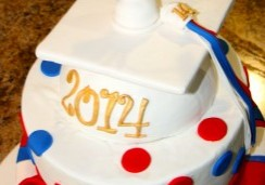 Graduation - Sweet Cheeks Custom Cake